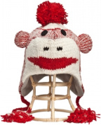Nirvanna Designs CHSmnky-Red S Monkey Hat - Red