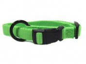 Hamilton Adjustable Dog Collar Lime 5 8 X12-18 - FAS 12/18 LI