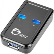 Siig Inc. JU-SW0012-S1 Usb 3.0 Switch 2-To-1Superspeed Usb 3.0