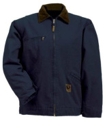 Berne Apparel J374MDR400 Medium Regular Washed Gasoline Jacket Fleece Lined - Midnight