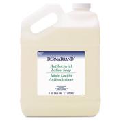 Dermabrand 430EA Antibacterial Liquid Soap- Unscented Liquid- 3.8lBottle