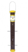 Droll Yankees Inc BL-BUF23 Nyjer Bird Lover 23 Inch Bottoms Up Finch Feeder - Yellow
