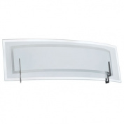 Dainolite V034-2W-SC 2 Light Vanity in Satin Chrome with Clear-Frosted Glass