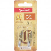 Speedball Art Products 385947 Speedball Calligraphy in. C in. Style Flat Points-C-4 C-5