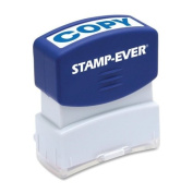 Stamp-Ever Pre-Inked Message Stamp, Copy, Stamp Impression Size