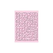 Provo Craft 37-1145 Cuttlebug A2 Embossing Folder