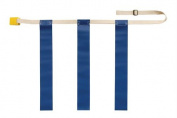 Olympia Sports FB631P Triple Threat Flag Football Belt - Medium - Blue