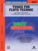 Alfred 00-BIC00203A Student Instrumental Course- Tunes for Flute Technic- Level II - Music Book