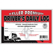 J.J. Keller 701L Duplicate Drivers Daily Log Book Carbonless