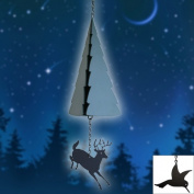 North Country Wind Bells Inc. 201.5016 Mt. Battie with hummingbird wind catcher