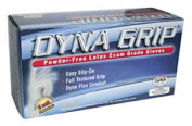S.A.S. Safety Corp. SAS650-1003 Dyna Grip 8 Mil Latex Gloves- Large- 100 Count