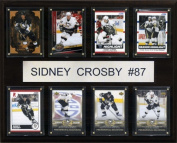 C & I Collectables 1215CROSBY8C NHL Sidney Crosby Pittsburgh Penguins 8 Card Plaque
