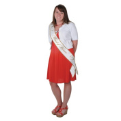 Beistle 60542 Maid of Honour Satin Sash - Pack of 6