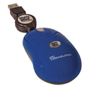 PC Treasures 07221 Mighty Mini Mouse- Retractable-navy