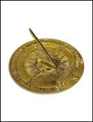 Rome Industries 2314 Brass Nautical Sundial