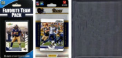 C & I Collectables 2012RAMSNTSC NFL St. Louis Rams Licenced 2012 Score Team Set and Favourite Player Trading Card Pack Plus Storage Album