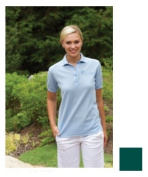 24-7 Lifestyle TS00351FG00003 Ladies Performance Blend Polo 351 FOREST GREEN M