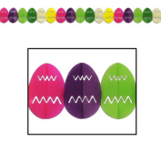 Easter Egg Garland Party Accessory (1 count) (1/Pkg)