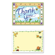 Beistle 58305 B Is For Baby Thank You Notes