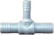 Genova Products 1-.63.5cm . X 2.5cm . Poly Insert Reducing Tee 351474