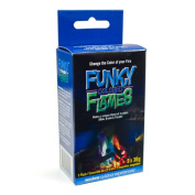 Winlow Products 281200 Funky Coloured Flames - Pack of 3