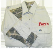 Papes 33663 Papes Shooters Shirt Large