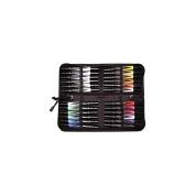 Primsacolor Double Ended Art Markers 48/Pkg W/Case-Chisel/Fine