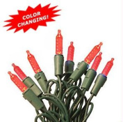 35 LED M5 Color Changing Red-Green Light Set with 4 in. Spacing