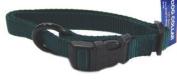 Hamilton Adjustable Dog Collar Hunter Green 5 8 X12-18 - FAS