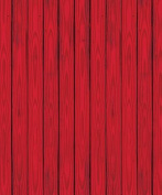 Beistle 52057 Barn Siding Backdrop in Red - Pack of 6