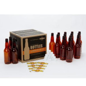 Mr. Beer Deluxe Bottling System-MR BEER 1/2 litre BOTTLE