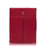Masters Club FECFIP2R CALIFORNIA COLLECTION LEATHER IPAD2-NEWIPAD RED