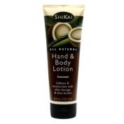 Shikai Products Coconut Hand & Body Lotion