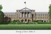 University of Wisconsin Campus Images Lithograph Print