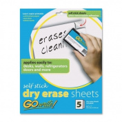 GO WRITE BLAZER TECHNOLOGY INVAS8511 DRY ERASE SHEETS SELF STICK 8.5