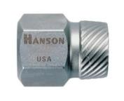 Hanson HAN53202 .40.6cm . Hex Head Multi-Spline Screw Extractor