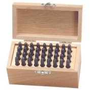 KNKKP856610 36 Piece .40.6cm . Letter and Number Punch Set