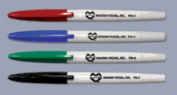 Magna Visual PM-5 Water Soluble Markers - Blue