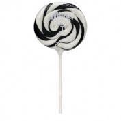 Adams & Brooks Black And White Whirly Pops