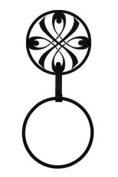 Village Wrought Iron TBR-155 Bow Towel Ring