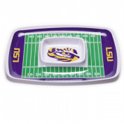 BSI PRODUCTS 32015 Chip and Dip Tray - Louisiana State Tigers
