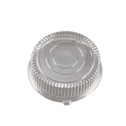 EMI Yoshi EMI-340LP 35.6cm . Round Clear Dome Lid - Pet - Pack of 25