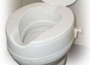 Drive Medical 12064 Raised Toilet Seat Without Lid - 10cm
