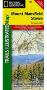 National Geographic Maps TI00000749 Mount Mansfield - Stowe Map
