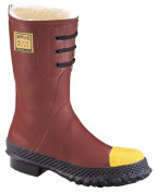 Ranger 617-6147-10 Shearling Insulated Steel Toe Poly Rubber