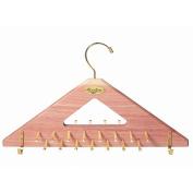 Cedar Tie Rack | Cedar Tie & Belt Hanger