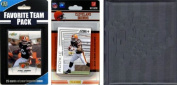 C & I Collectables 2012BROWNSTSC NFL Cleveland Browns Licenced 2012 Score Team Set and Favourite Player Trading Card Pack Plus Storage Album