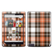 DecalGirl BNN9-PLAID-CPR DecalGirl Barnes and Noble NOOK HD Plus Tablet Skin - Copper Plaid