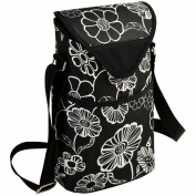 Picnic at Ascot 412-NB Night Bloom Two Bottle Tote - Night Bloom