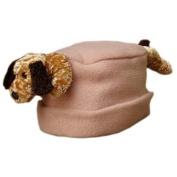 BearHands FHS-FLD-CAM M Hat Fleece Floppy Ear Dog on Camel - Medium